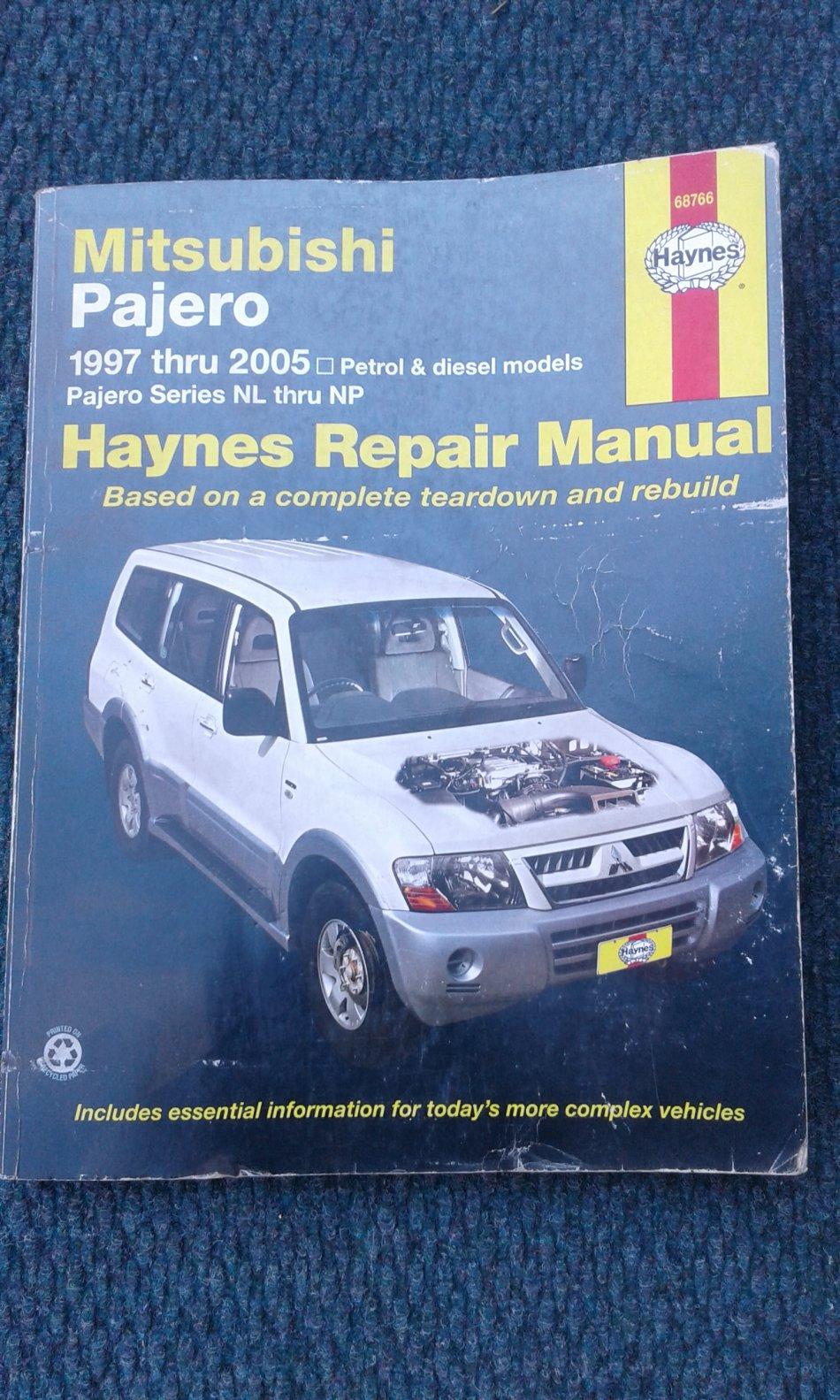 ... Array - workshop manuals mitsubishi pajero 3 2 did gls was listed for  r100 rh bidorbuy