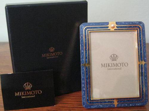 Brass - FINEST QUALITY MIKIMOTO INTERNATIONAL, BRASS FRAME INLAYED ...
