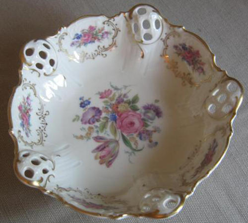 Hand Painted German Plates