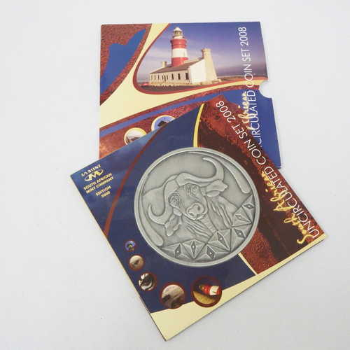 2008 RSA uncirculated coin set