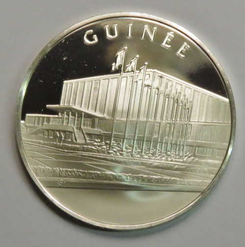Unieke Antieke Guinea United Nations Proof Sterling Silver Medallion Weighs 12 5 Grams Powered By Cubecart