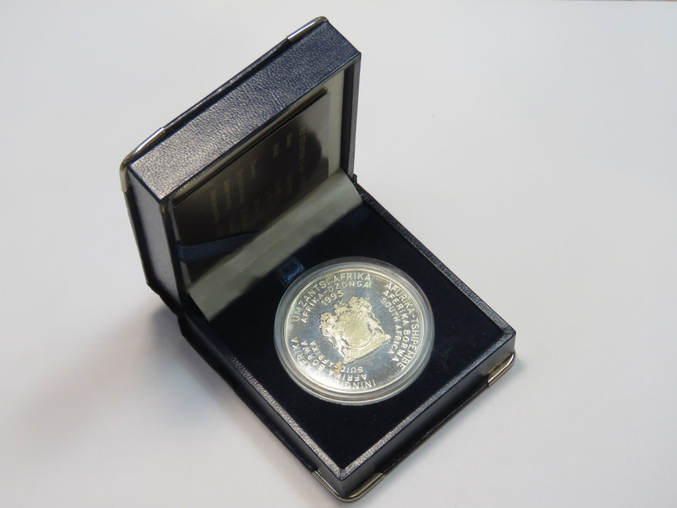 Proof R2 silver 1995 UN - Only 1412 minted