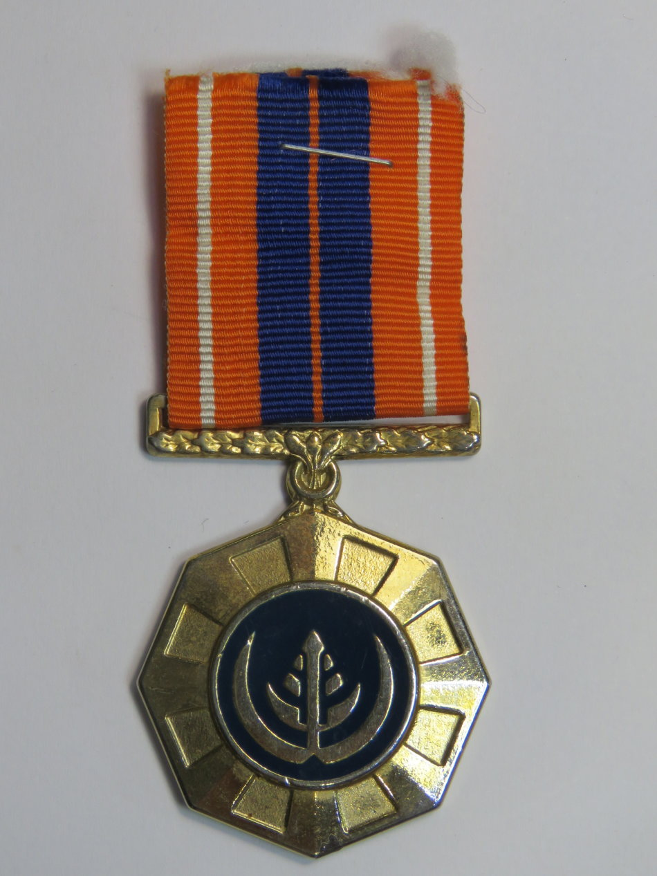 SADF Pro Patria medal - Fixed type
