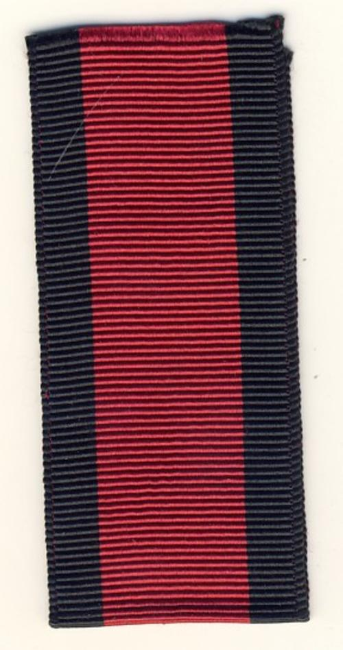 Military General Service Medal ribbon - 6 inches