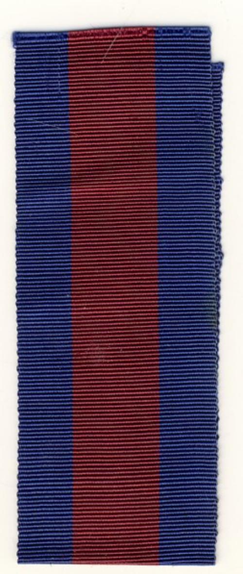 Hong Kong diamond Jubilee medal ribbon - 6 inches - as per scan