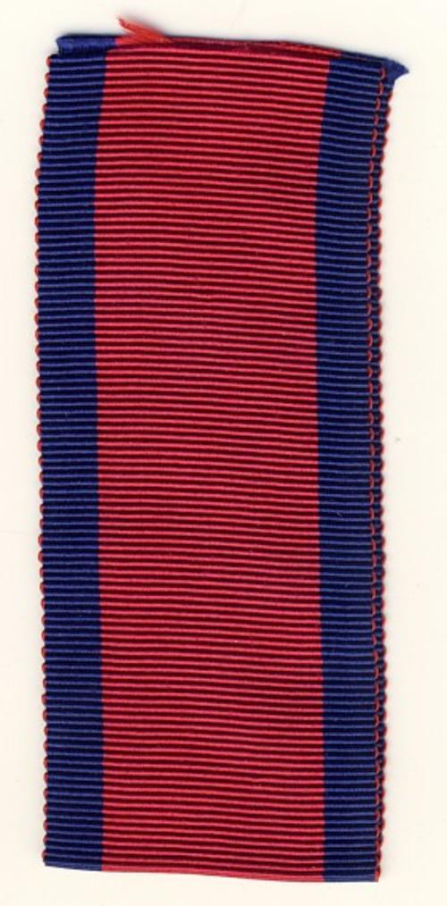 1847 Military General Service Medal ribbon - 6 inches - as per scan