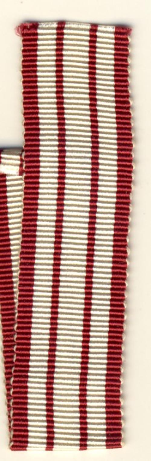 British Naval General Service Medal ribbon - 6 inches
