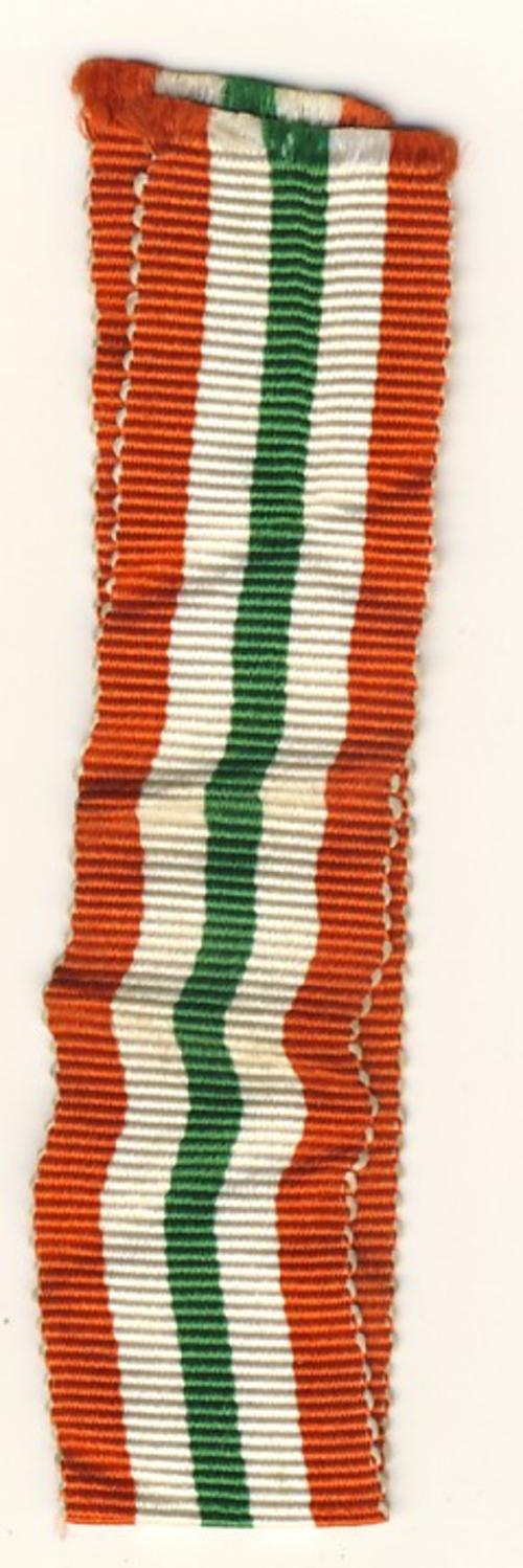 WWII Italy Star miniature medal ribbon - 14cm - as per scan