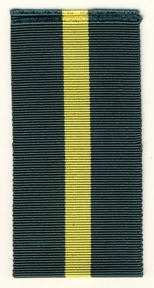 Territorial & Efficiency decoration ribbon - 38mm x 6 inches - as per scan