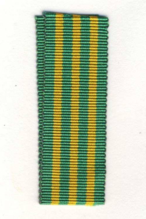 SADF Danie Theron medal ribbon - miniature