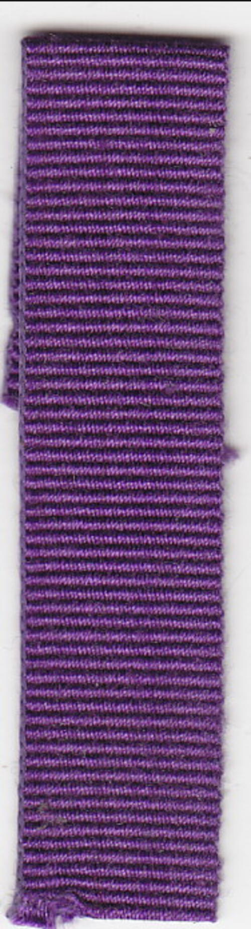 Rhodesia Meritorious Conduct Medal miniature medal ribbon - 9cm
