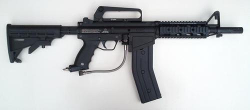 markers guns magazine fed tippman a5 with tacamo magazine