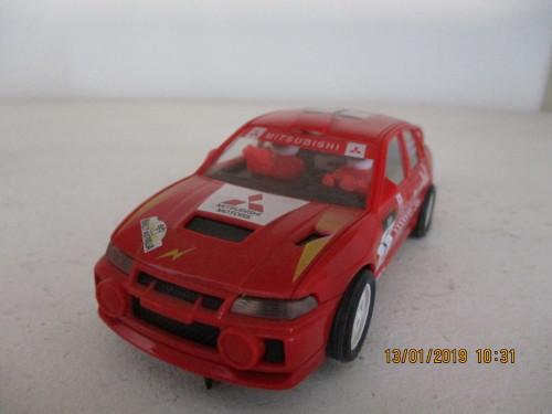 Cars - 1/32 SCALE SCX SLOT CAR MITUBISHI LANCER EVO 4 for