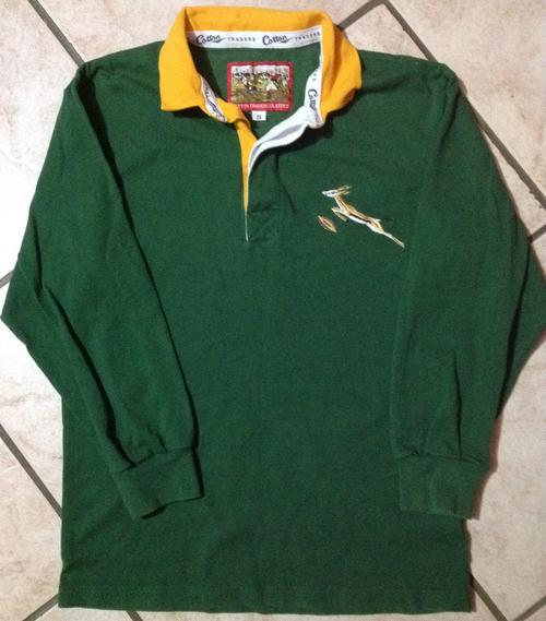 *Very Rare*OLD SPRINGBOK SOUTH AFRICA JERSEY