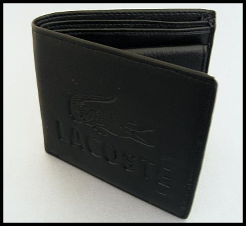 7eafc80ee Wallets   Holders - MENS LACOSTE WALLET - BLACK was sold for R130.00 ...