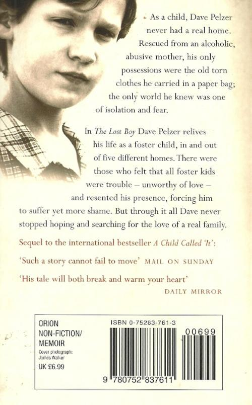 the lost boy dave pelzer full book