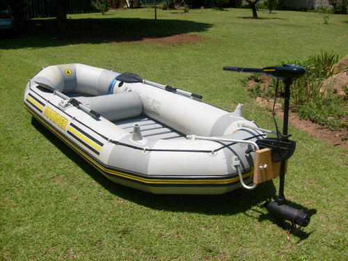 Commercial Boats Marina Intex 4 Inflatable Boat Was