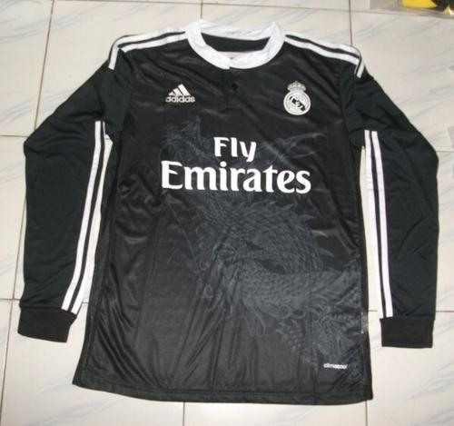 buy popular 0dae1 113b5 Real Madrid / Barcelona Long Sleeve Football Tops - Free Shipping