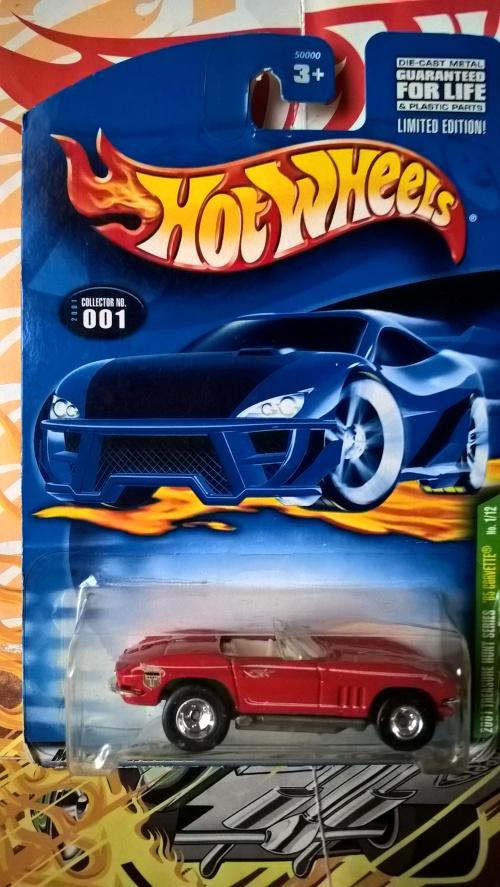 Models Hot Wheels Super Treasure Hunts 65 Corvette Was Listed