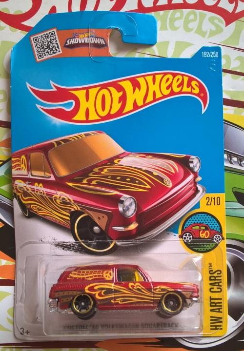 Hot Wheels: VW Squareback
