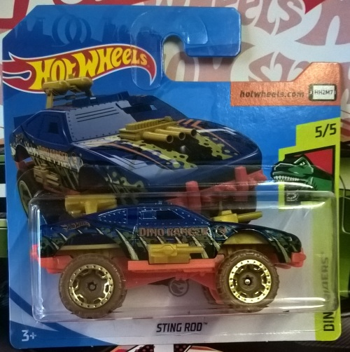 Hot Wheels 2019: Treasure Hunt Sting Rod