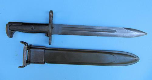 Bayonets - M1 Garand Bayonet M-1945 Marked 'EN5 E-US' US Army Issue