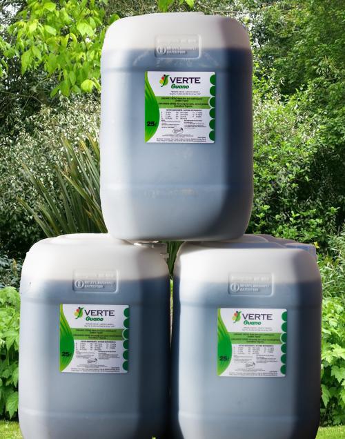 Organic Liquid Concentrated Fertilizer (Dilute 1:40)- Organic Seabird Guano  Liquid : 25 Litres
