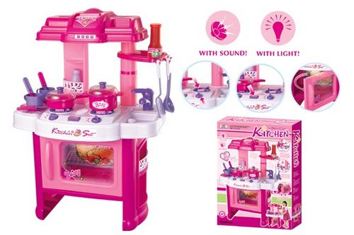 Kitchen Housework Kitchen Play Set Ideal For Girls Was Listed