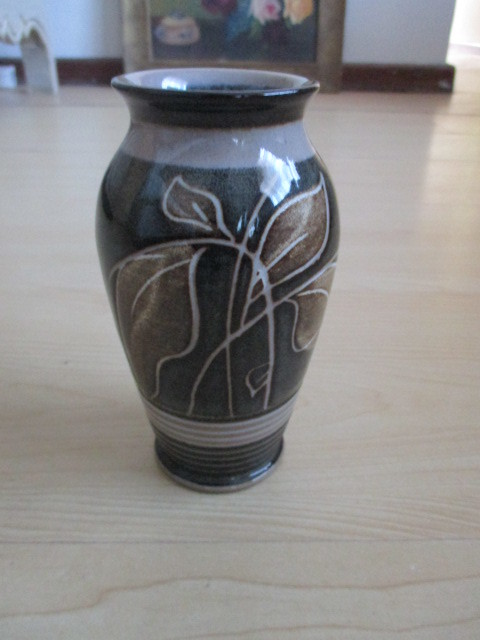 Other Ornaments Denby Pottery Vase Made In England Was Listed