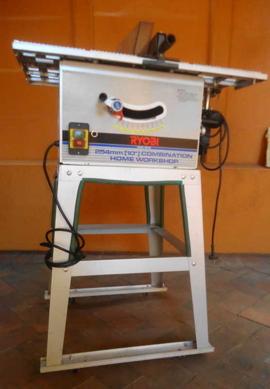 Saws - RYOBI 254 MM COMBINATION HOME WORKSHOP - TABLE SAW ...