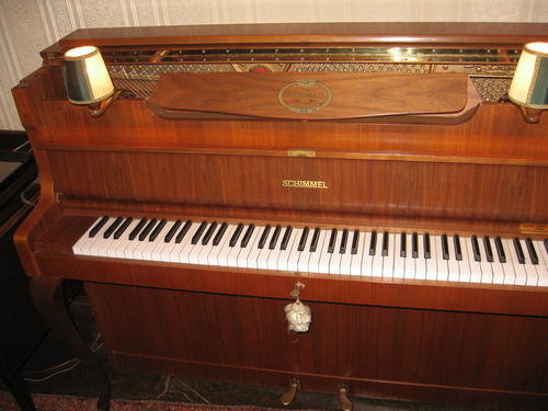 Piano Amp Organ Schimmel Upright Piano Was Sold For R6 750