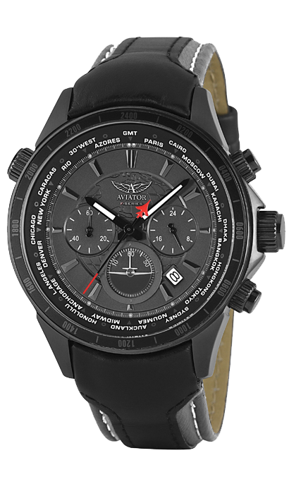 men 39 s watches aviator f series pilot chronograph gents. Black Bedroom Furniture Sets. Home Design Ideas