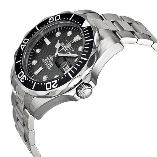 Men S Watches Invicta Grand Divers 200m Carbon Fibre