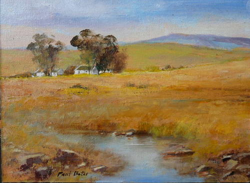 Oils paul botes one of sa 39 s top landscape artists was for Landscape sa