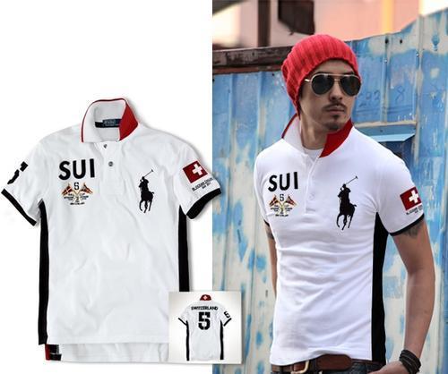 verfügbar besserer Preis für Modestile Polo Ralph Lauren short sleeve classic shirt Switzerland (M,L) white
