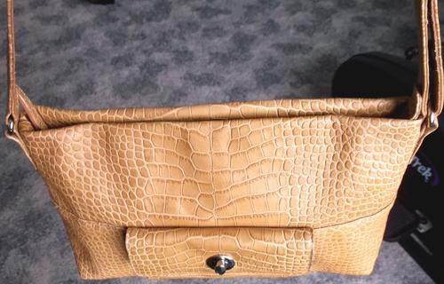 Genuine Medici Leather Handbag Bought In Germany Like New Bargain 33 Cm Wide 20 High
