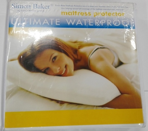 Sheets linen simon baker waterproof protector single for Waterproof bed sheets south africa