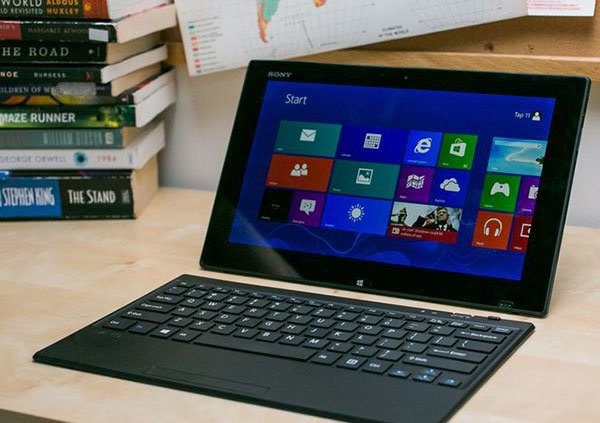 SONY VAIO TAP 11 TABLET PC, TOUCHSCREEN, 4TH GEN CORE i5, 128GB SSD, 4GB  RAM, WIN 8 SL, USB 3, CAM