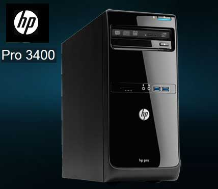 HP PRO 3500 DESKTOP PC CORE i5 @ 3 00GHz, 8GB RAM, 500GB HD,DVD-RW,  LICENSED WIN 8 PRO, ETC