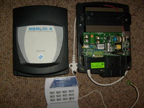 Other Home Security Merlin 4 Joule Energizer Ideal For