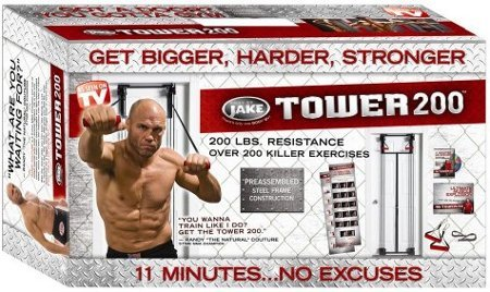 The Tower 200 Body by Jake is one of the most popular door gyms. Using bands of varying tension and with over 200 exercises this device will push the body ...  sc 1 st  Bid or Buy & Other Strength Training Equipment - Tower 200 Door Gym(In box) was ...