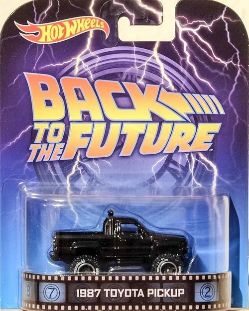 Models Hot Wheels Back To The Future 1987 Toyota Hilux