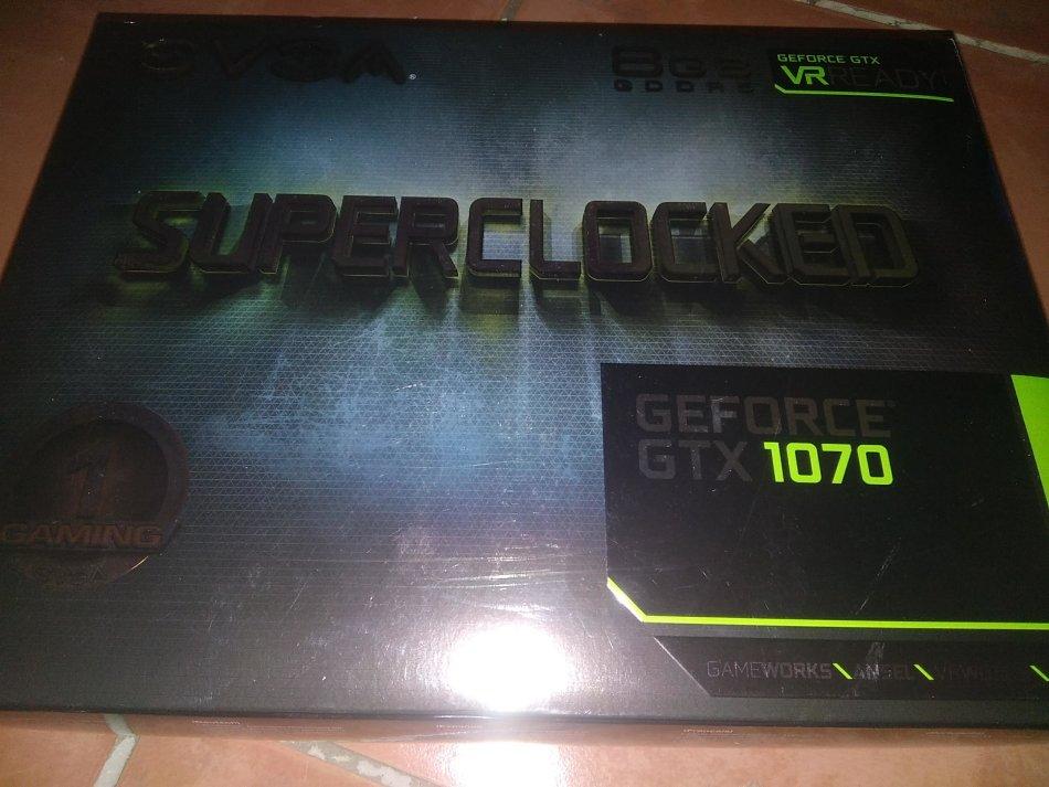 EVGA GeForce GTX 1070 SC GAMING, 08G-P4-5173-KR, 8GB GDDR5, ACX 3 0 & Black  Editio