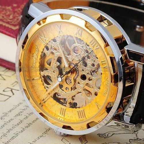 Часы скелетоны Winner - prwatchru