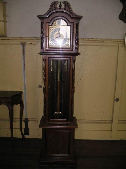 Tempus Fugit Blessing Longcase Grandfather Clock