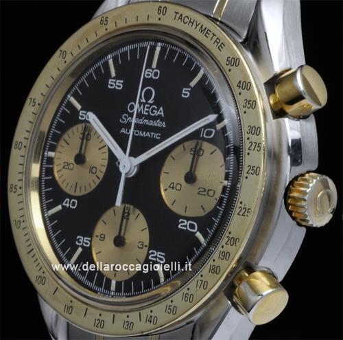 Men's Watches - Omega Speedmaster Reduced Stainless 175 0033 Black