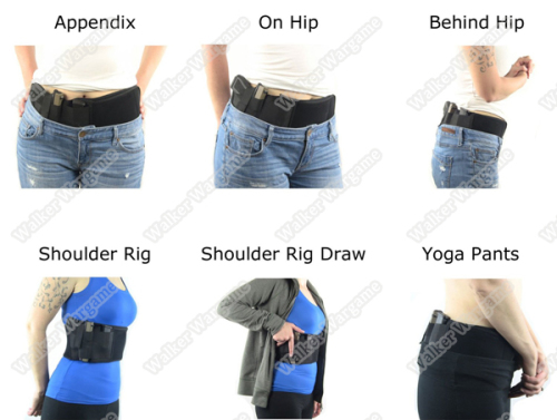 Ultimate Tactical Waist Wrap Belly Band Holster for Concealed Carry - Gen2