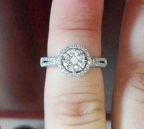 Engagement Rings Sterns: Sterns Forever 18CT White Gold Diamond