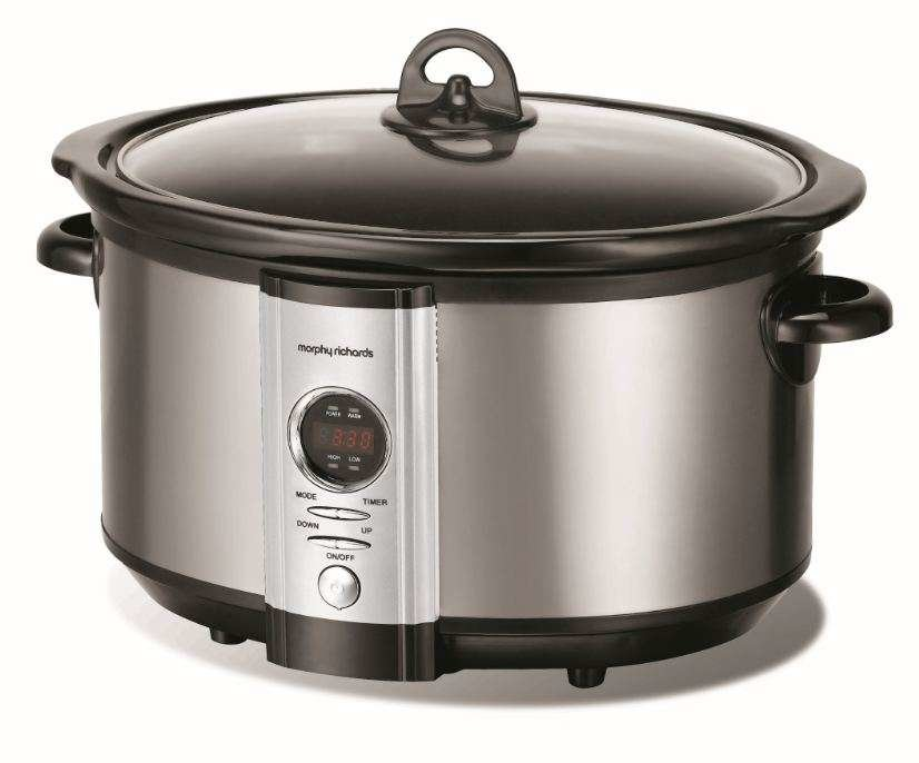 morphy richards digital slow cooker instructions