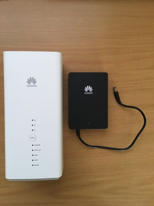 HUAWEI B618 LTE/LTE-A ROUTER WITH POWER BANK